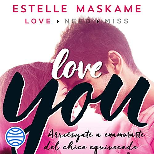 Diseño de la portada del título Love You (Spanish edition)
