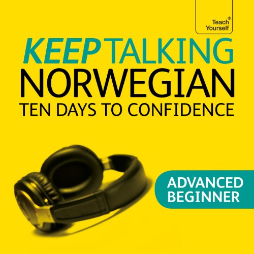 Keep Talking Norwegian audiobook cover art