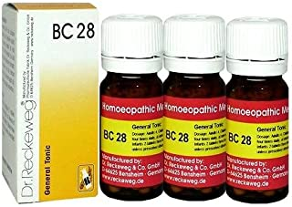 Dr.Reckeweg Germany Biochemic Combination Tablet Bc 28 Pack of 3