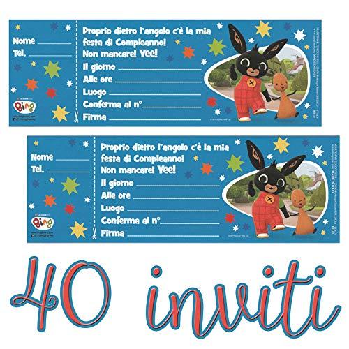 Biglietti di invito per feste 15,24 cm motivo Topolino