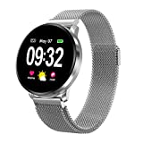 Smart Watch for Men Women with All-Day Heart Rate Monitor Blood Pressure Monitor