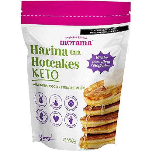 Morama, Harina Para Hotcakes Keto, 350 Gramos