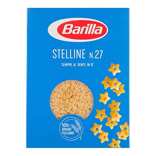 Barilla Pasta Stelline N.27, Pastina di Semola di Grano Duro, I Classici, 500g