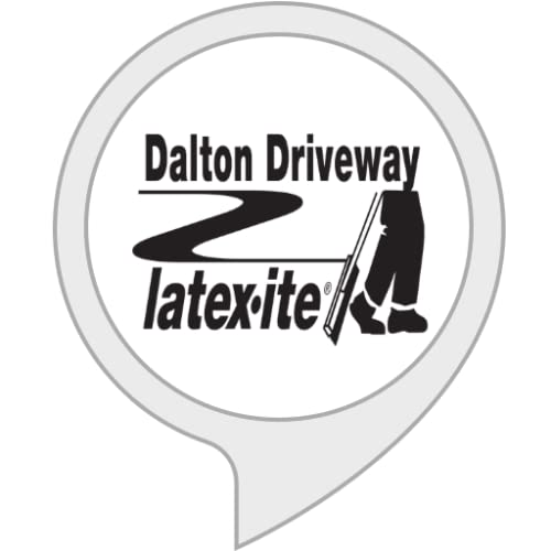 Latexite Driveway by Dalton Enterprises