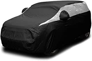 Titan Lightweight Car Cover. Compact SUV (Jet Black). Compatible with Toyota RAV4, Honda CR-V, Rogue, and More. Waterproof...