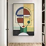 Peinture sur Toile Impression nodique géométrie Affiche Moderne mystérieuse Figure Toile Peinture Affiches et Impressions Photos murales pour Salon Dormir décor à la Maison