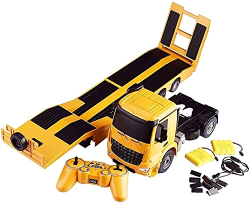 Darenbp Coche RC 1:20 Escala 2.4 GHz Camión, Dumper, RC Car Trailer Camión Volquete, RC Vehículo De Carrera Coche De Alta Velocidad Coche De Carreras Eléctrico Modelo De Control Remoto Vehículo Todote