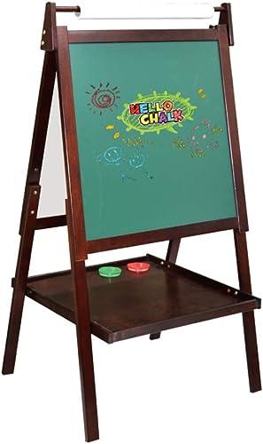 Kinder Staffelei doppelseitige magnetische Massivholz kann angehoben und gesenkt Werden Kinder-Zeichenbrett Staffelei Tafel Malerei Halterung Tafeln