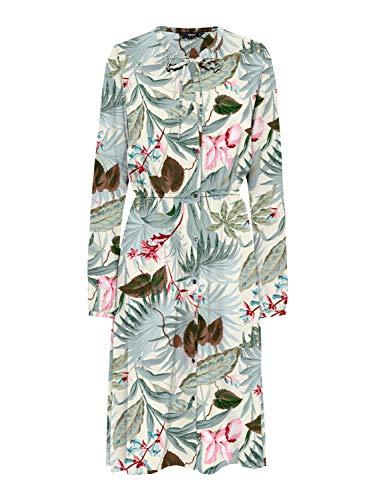 ONLY Onlnova Miranda Life L/S Dress AOP WVN jurk