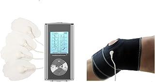 HealthmateForever 10 modos pulso Digital terapia masajeador rodilla gran dolor suplementos para tratamiento de dolor de la rodilla rodilla rodillera plata