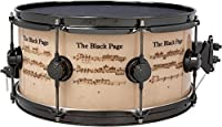 DW Collector's Series Icon Terry Bozzio The Black Page Snare Drum 14 x 6.5 in. [並行輸入品]