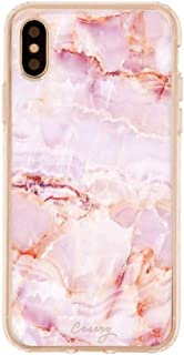 Casery iPhone Case for iPhone X/XS, Rose Marble