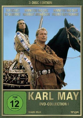 Karl May (Collection I) - 3-DVD Box Set ( Der Schatz im Silbersee / Winnetou und das Halbblut Apanatschi / Winnetou und sein Freund Old Fire [ Origine Allemande, Sans Langue Francaise ]
