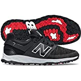 New Balance Men's LinksSL Golf Shoe, Black, 10