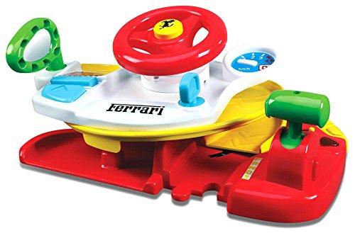 Bb Junior Dash 'n Drive: Auto-Rennbahn mit Spiel-Lenkrad für Kinder ab 12 Monaten, mit Licht- und Sound-Effekten und Rennauto, zusammenklappbar (16-88803)