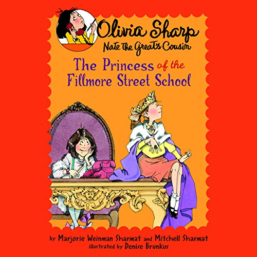 The Princess of the Fillmore Street School audiobook cover art