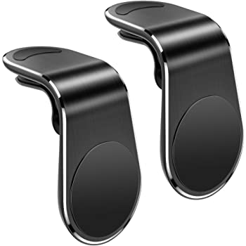 UIHOL Supporto Magnetico Auto Smartphone Porta Cellulare da Auto (Forte Magnetico) Calamita Telefono Supporto Universale Ventilazione Bocchette per iPhone Samsung Huawei Smartphone ECC(2 Pezzi)