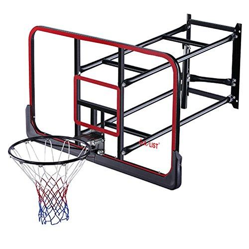 Generic LQ.. 1.. LQ.. 4564.. LQ E Mauer Wand montiert Profes Full Größe D B Basketballkorb tBall H Robuste, professionelle Rückwand Net & Rückwand NV _ 1001004564-cnuk22_ 1566