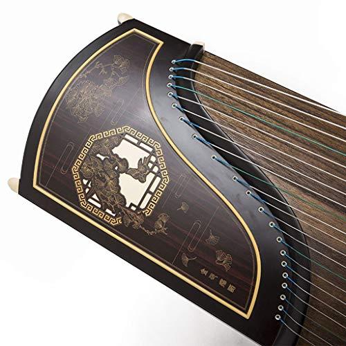 GuanXiao Chinesische traditionelle rote Guzheng-Birnen-Farbe Guzheng-Anfänger, der Nationale Orchesterinstrumente übt
