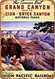 Forry Grand Canyon Metall Poster Retro Blechschilder
