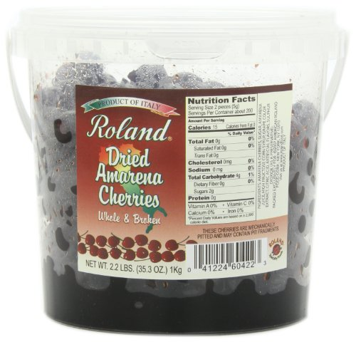 Roland Cherries, Dried Amarena in Syrup, 35.3 Ounce