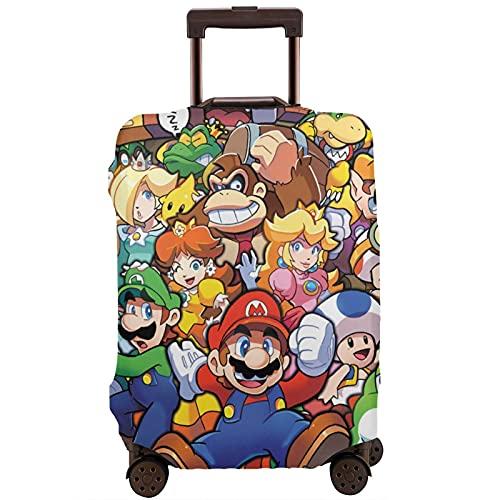 The Legend of Zelda Superhero Super Mario Smash Bros Maleta Funda protectora lavable Diseño 3D 4 tamaños para la mayoría de equipaje bolsa protectora cremallera