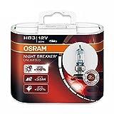 Osram HB3 12V 60W 9005NBU Night Breaker Unlimited Auto Bulbs Halogen Headlight 2X