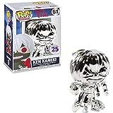Lotoy Funko Pop Animation : Tokio Ghoul - Ken Kaneki (Silver Chrome Funimation 25th Anniversary Excl...