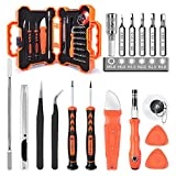 55 in 1Electronics Repair Tool Kit Magnetic Precision Screwdriver Set Screen Pry Opening Tool Kits with Tweezers Utility Knife for Electronics, iPhone, iPad, Laptops, Tablets, Game Consoles, Watches