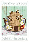 Bee hive skep tea cosy knitting pattern