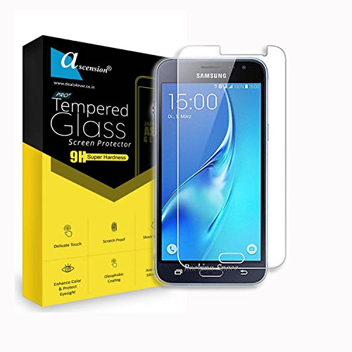 Ascension ® Curve Tempered for Samsung Galaxy J3 Gorilla Glass Screen Protector High 9H Hard 2.5D Ultra Clear Transparent