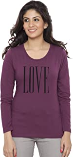 Clifton Women Printed T-Shirt-Full Sleeve-Round Neck