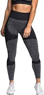 Jetjoy bbmee Seamless Leggings for Women High Waist Yoga Pants,Tummy Control Workout Running Gym Vital Leggings 4way Stretch