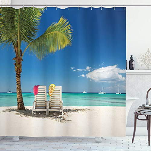 Ambesonne Seaside Shower Curtain