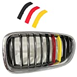 Lanyun F10 Grille Insert Trims Stripes Cover Yellow Color Flag Color Decorate...