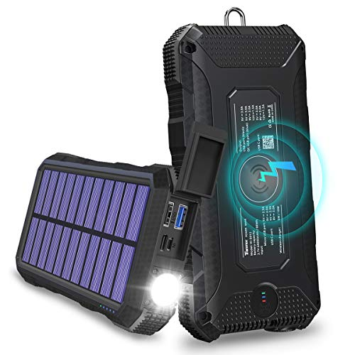 Solar Charger Tranmix 18W Power Bank review