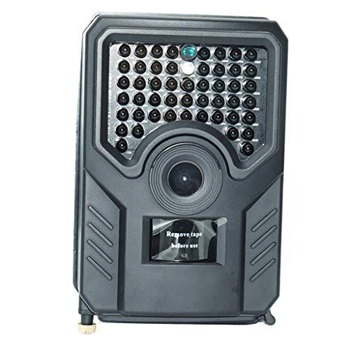 Injoyo Mini Wildkamera 12MP 1080P Nachtsicht-Kamera, Überwachungskamera, Jagdkamera zur Beobachtung von Wildtieren und Heimüberwachung - Schwarz, wie Beschreibung