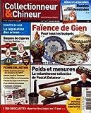 COLLECTIONNEUR ET CHINEUR [No 59] du 01/05/2009 - BANDES DESSINEES - FAIENCE DE GIEN...
