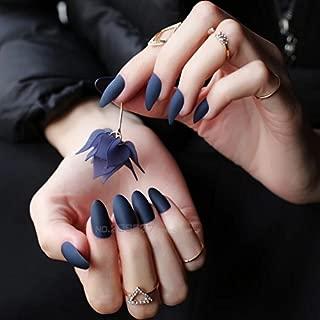 Business Ventures 24-Piece Matte Finish Reusable with Professional Glue (Dark Blue)