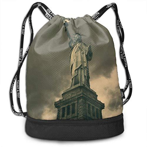 Estatua de la Libertad - Mochila de viaje con cordón
