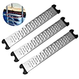 sunflowerany Swimming Pool Replacement Ladder Rung Step, 3 Pcs Stainless Steel Pool Ladder Tread For...