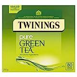 Twinings Pure Green Tea, 320 Bags (Multipack of 4 x 80 Bags)