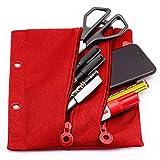 Colorline 52811 - Porta Todo con Anillas, Especial para Carpetas de Anillas, Material Escolar y...