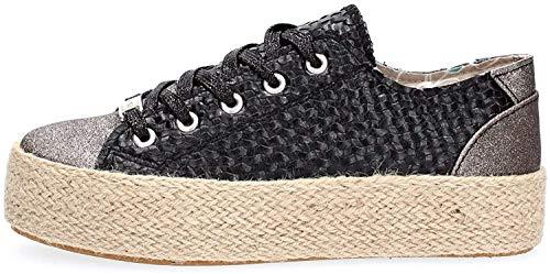 Cafè Noir DG922 Sneakers Donna Nero 39