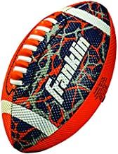 Franklin Sports Mini Football – Tacky Grip Cover – Easy Throw Spiral Lace System – Little Kids Indoor/Outdoor Football - Orange/Navy