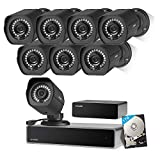 Zmodo Full HD 1080p Simplified PoE Security Camera System w/Repeater,...