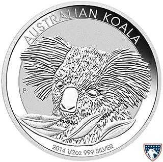 2014 AU Australia Silver Koala Commemorative Ungraded