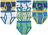 Trimfit Boys Soft Cotton Colorful Briefs Pack of 7 Kids Underwear