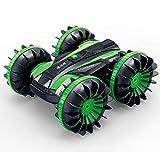 Coche Teledirigido 4WD para Niños, 2,4 GHz, Juguete Impermeable, Escala 1/18, con Giros De 360 ° Y Vueltas
