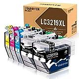 STAROVER Cartuccia d'inchiostro compatibile di Ricambio per Brother LC3219 XL LC3217 per Brother MFC-J5330DW MFC-J5335DW MFC-J5730DW MFC-J5930DW MFC-J6530DW MFC-J6930DW MFC-J6935DW (confezione da 5)